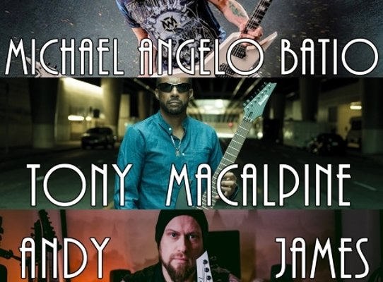Guitar Legends: Michael Angelo Batio / Tony Macalpine / Andy James