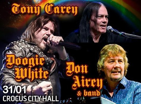 Don Airey / Tony Carey / Doogie White