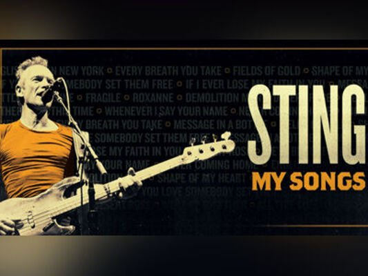 STING. MY SONGS TOUR